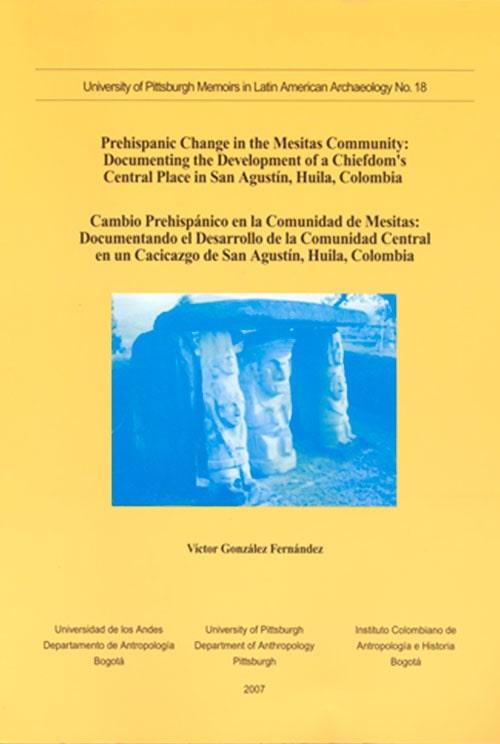 Portada Prehispanic Change In The Mesitas Community