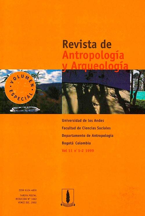 Portada Revista Antropologia Y Arqueologia V11