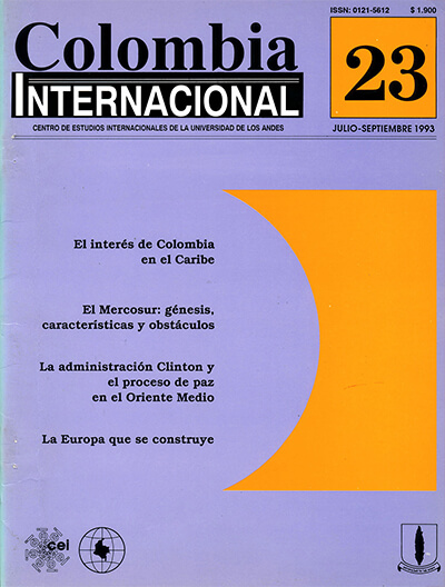 Colombiaint.1993.issue 23.largecover