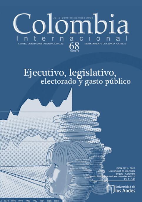 Revista Colombia Internacional 68 de la Universidad de los Andes