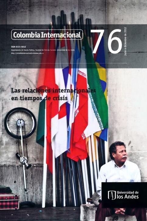 Revista Colombia Internacional 76 de la Universidad de los Andes