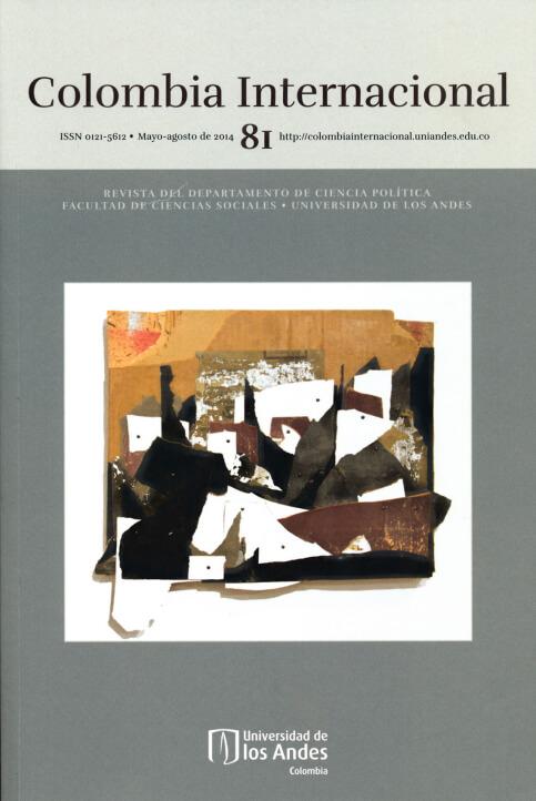 Revista Colombia Internacional 81 de la Universidad de los Andes