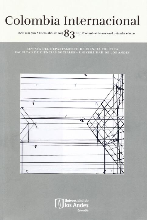 Revista Colombia Internacional 83 de la Universidad de los Andes