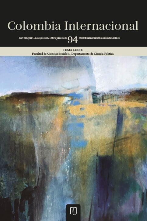 Revista Colombia Internacional 94 de la Universidad de los Andes