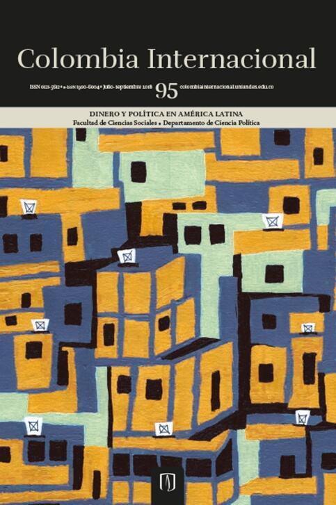 Revista Colombia Internacional 95 de la Universidad de los Andes