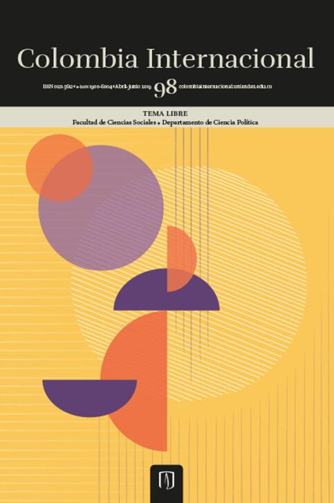 Revista Colombia Internacional 98 de la Universidad de los Andes