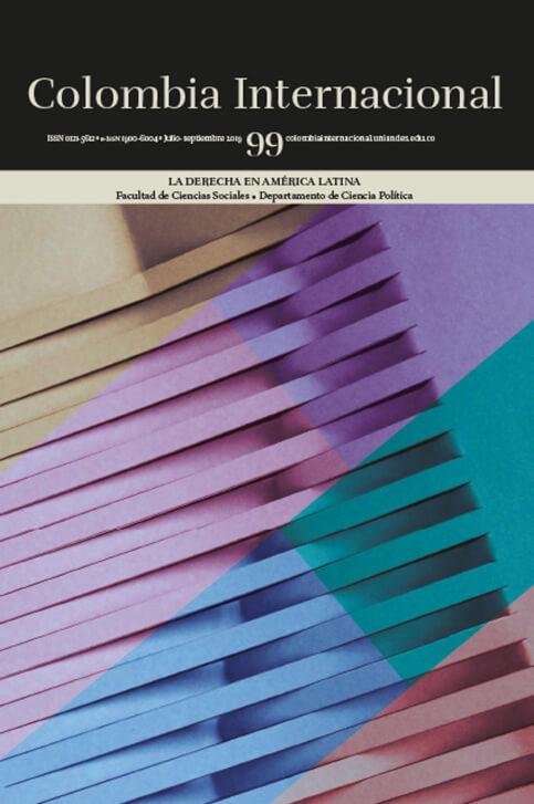 Revista Colombia Internacional 99 de la Universidad de los Andes
