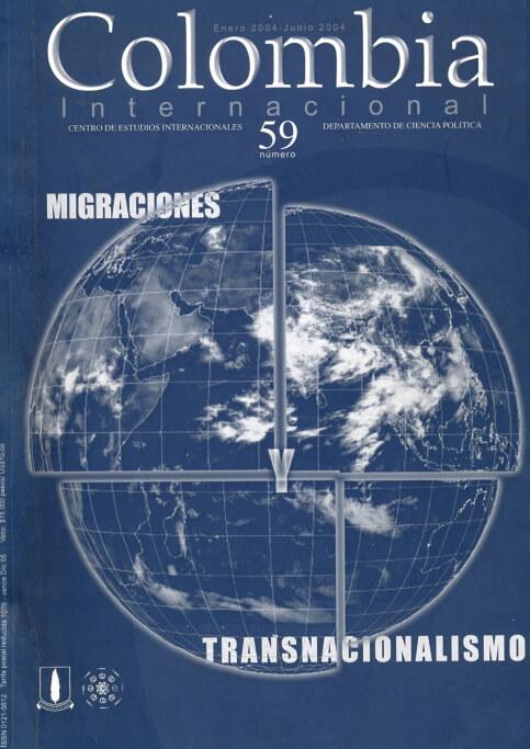 Revista Colombia Internacional 103 de la Universidad de los Andes