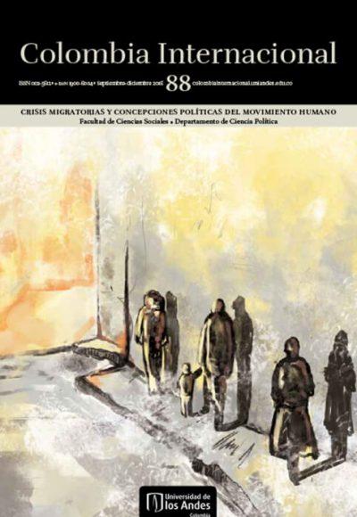 Revista Colombia Internacional 88 de la Universidad de los Andes