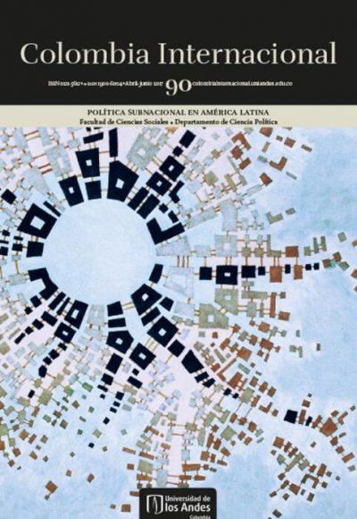 Revista Colombia Internacional 90 de la Universidad de los Andes