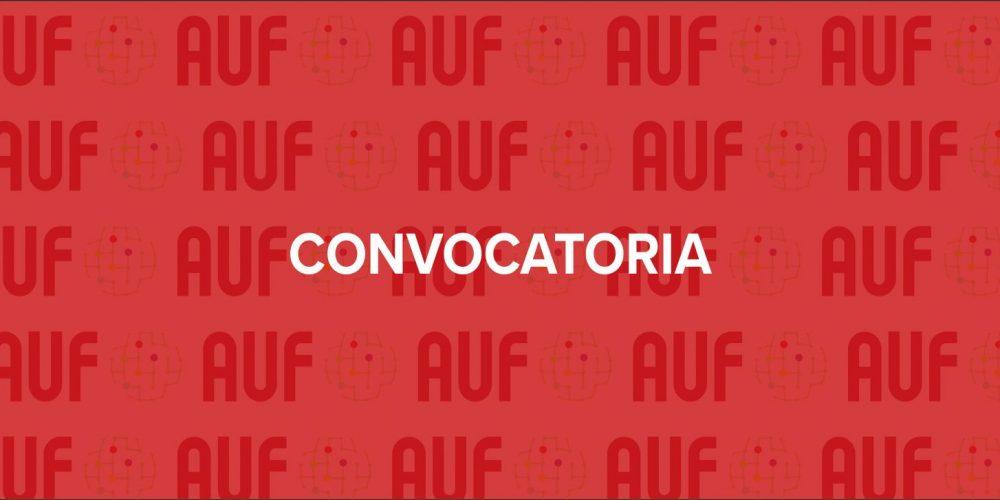 Convocatoria AUF 2021