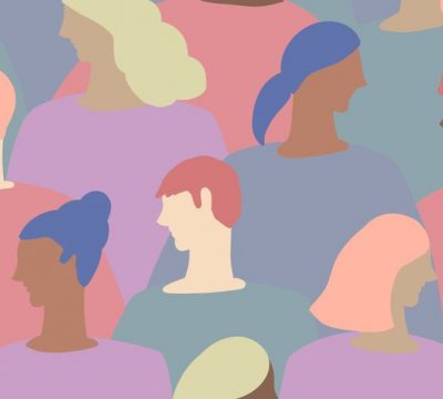 Beauty, group, people, pastel, not like a human skin colors, beauty, dyed hair, backgrounds, diversity