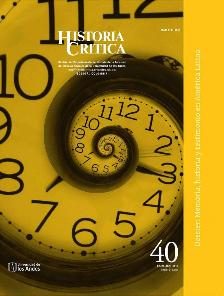 Histcrit.2010.issue 40.cover