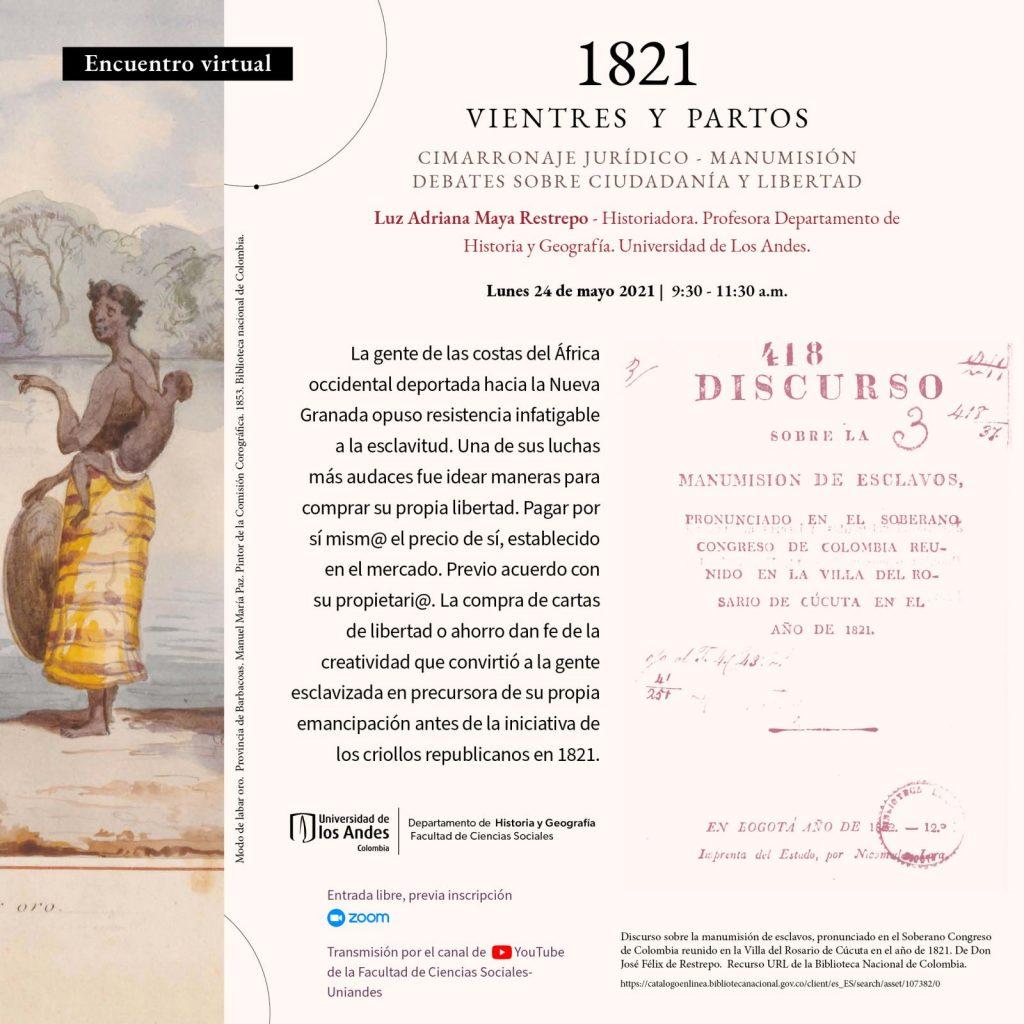 1821 · VIENTES Y PARTOS