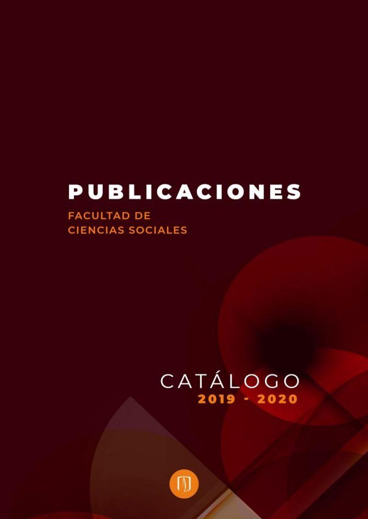 Catálogo de publicaciones 2019 y 2020 de Ciencias Sociales Uniandes