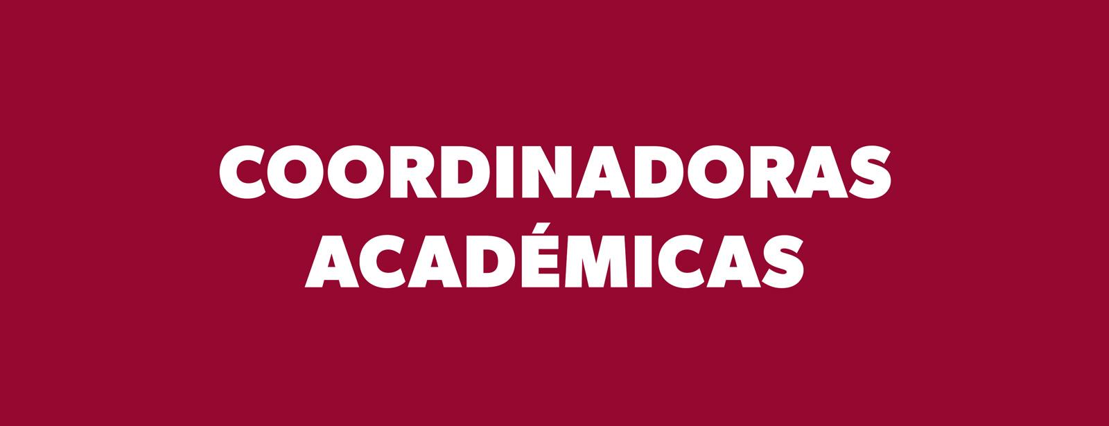 Coordinadoras Académicas de la Universidad de los Andes