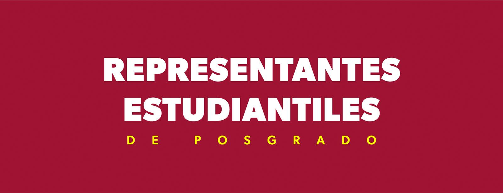 Representantes Estudiantiles de Posgrado de la Universidad de los Andes