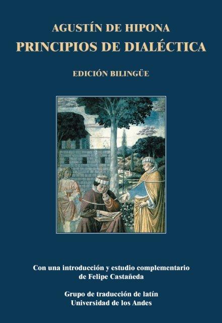 Augustín de Hipona. Principios de dialéctica