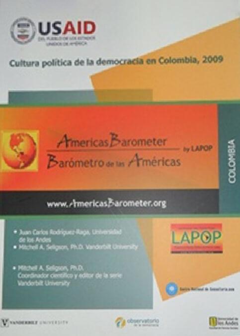 Publicación Cultura política de la democracia en Colombia, 2009