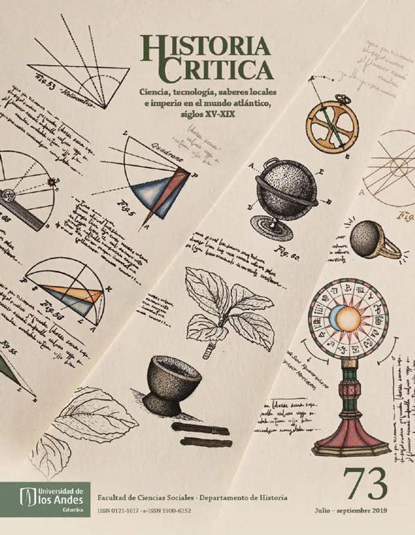 Revista Historia Critica 73 de la Universidad de los Andes