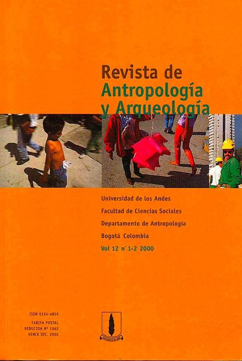 Portada Revista Antropologia Y Arqueologia V12