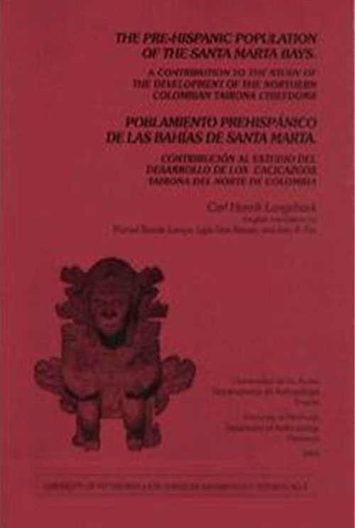 Portada The Pre Hispanic Population Of Santa Marta Bays