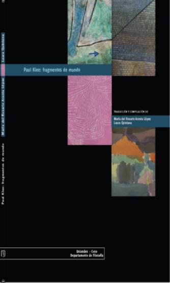 Publicación Paul Klee: fragmentos de mundo