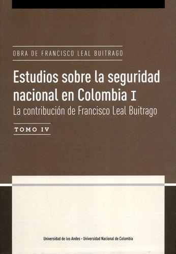 Publicación Obra de Francisco Leal Buitrago.