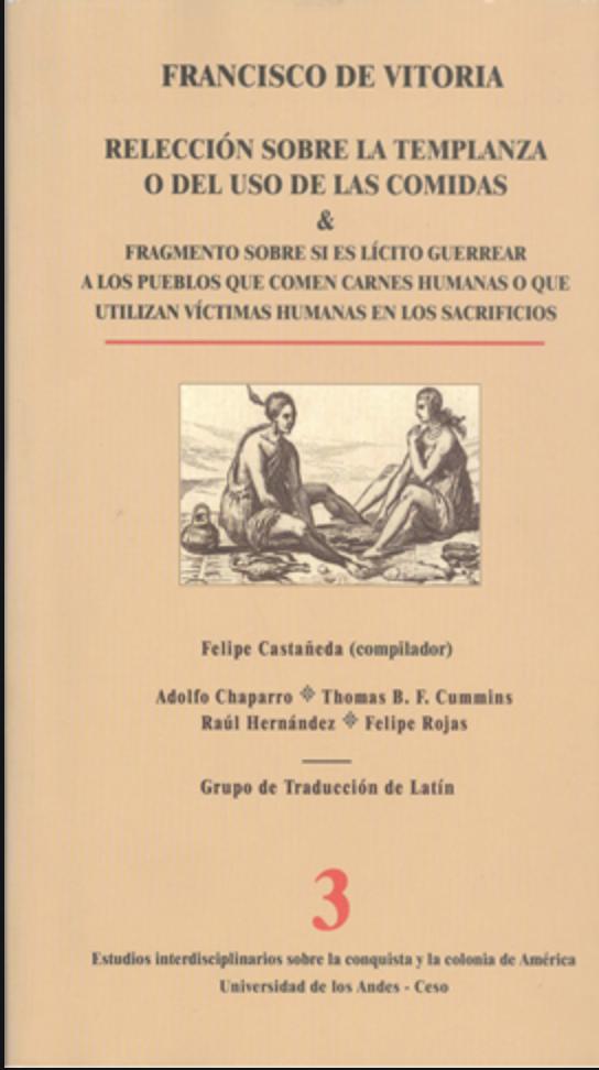 Publicación Relección sobre la templanza o del uso de las comidas
