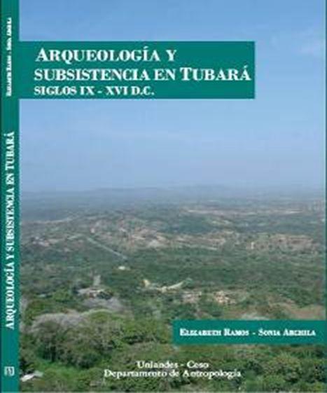 Publicación Arqueología y subsistencia en Tubará