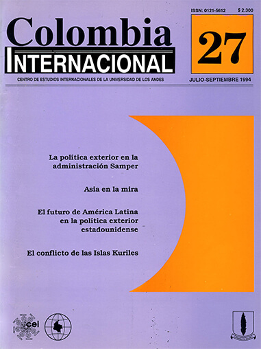 Colombiaint.1994.issue 27.largecover