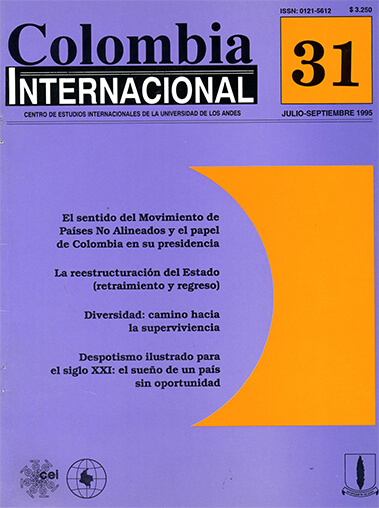 Colombiaint.1995.issue 31.largecover