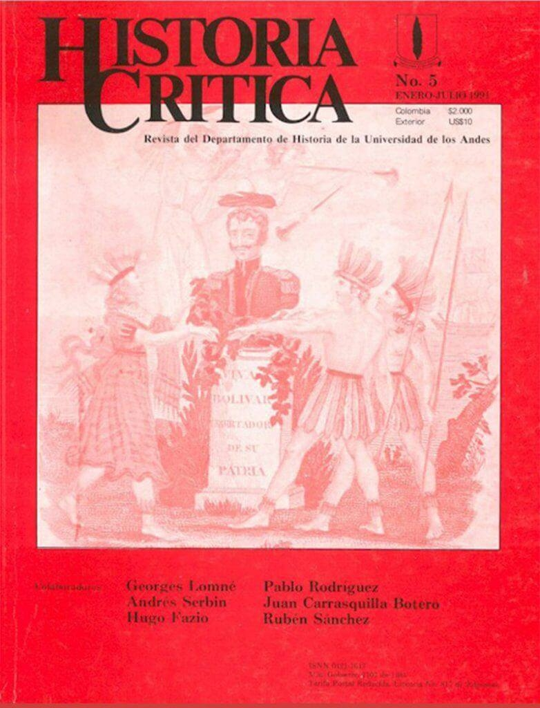 Histcrit.1991.issue 5.cover