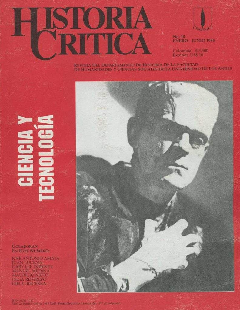 Histcrit.1995.issue 10.cover