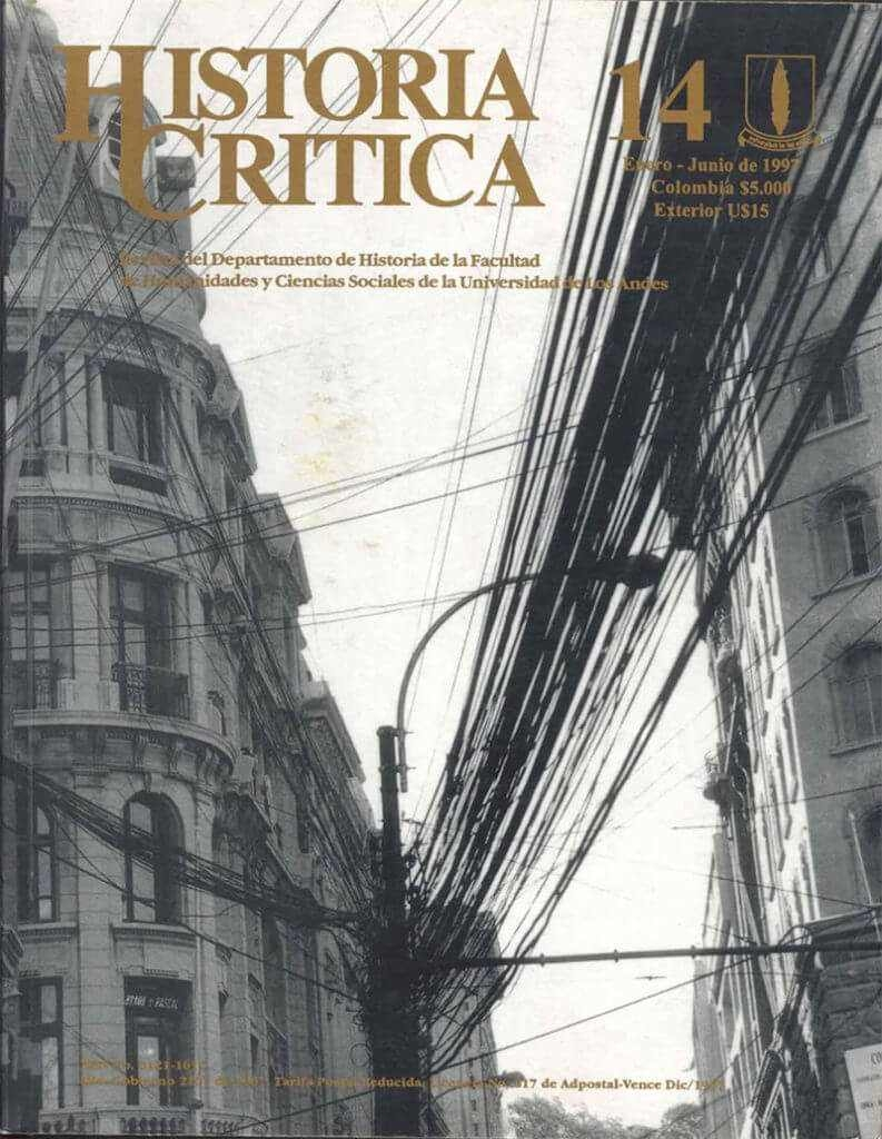 Histcrit.1997.issue 14.cover