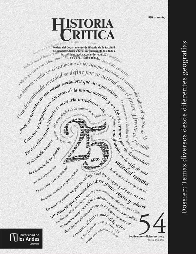 Histcrit.2014.issue 54.cover