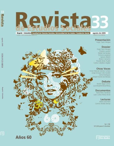 Revista de Estudios Sociales 33 de la Universidad de los Andes