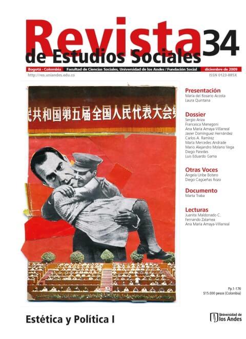 Revista de Estudios Sociales 34 de la Universidad de los Andes