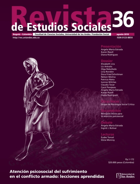 Revista de Estudios Sociales 36 de la Universidad de los Andes