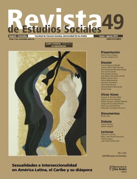 Revista de Estudios Sociales 49 de la Universidad de los Andes