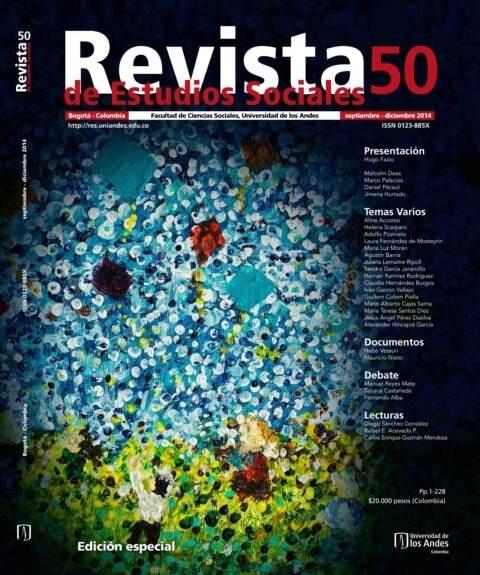 Revista de Estudios Sociales 50 de la Universidad de los Andes