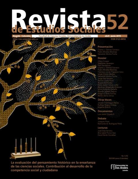 Revista de Estudios Sociales 52 de la Universidad de los Andes