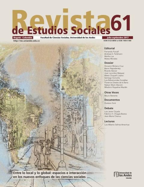 Revista de Estudios Sociales 61 de la Universidad de los Andes