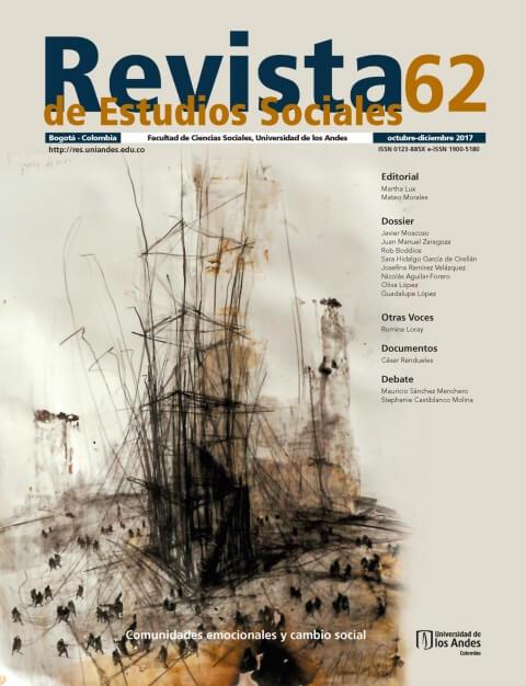 Revista de Estudios Sociales 62 de la Universidad de los Andes