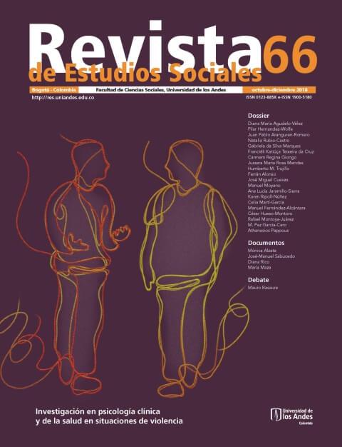 Revista de Estudios Sociales 66 de la Universidad de los Andes