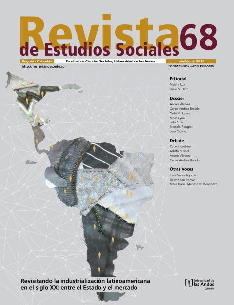 Revista de Estudios Sociales 68 de la Universidad de los Andes