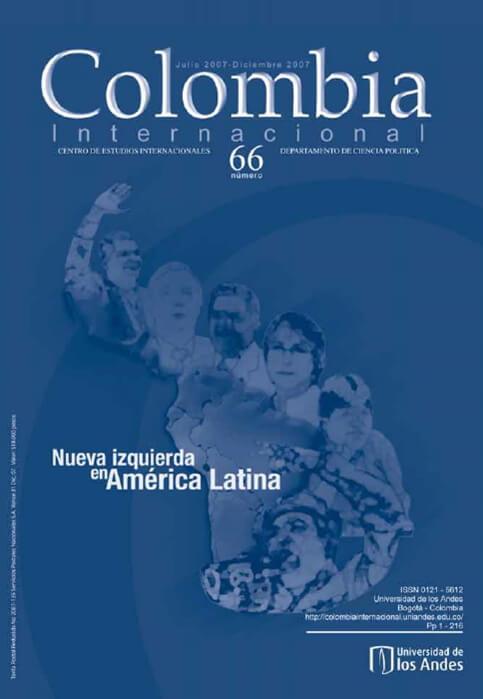 Revista Colombia Internacional 66 de la Universidad de los Andes