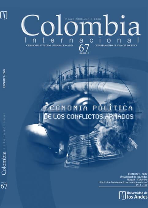 Revista Colombia Internacional 67 de la Universidad de los Andes