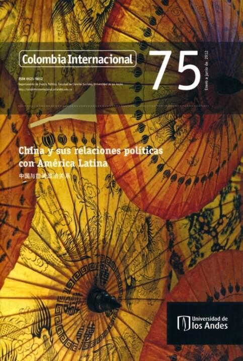 Revista Colombia Internacional 75 de la Universidad de los Andes