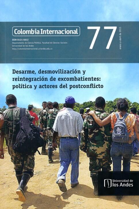 Revista Colombia Internacional 77 de la Universidad de los Andes